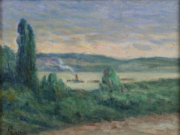 Les bords de la Seine a Rollebois
