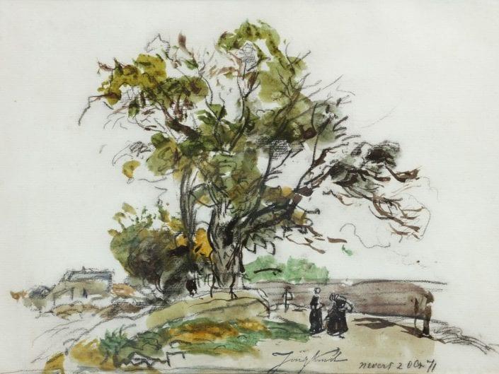 A landscape near Nevers