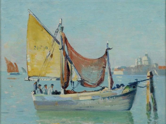 Harbour scene Venice