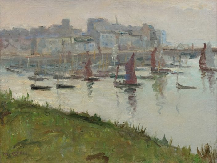 Harbour of Douarnenez, France