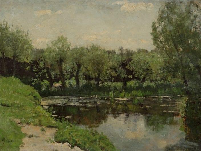 De Broeksloot bij Voorburg